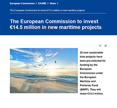 Margnet New Eu Project Of The Blue World Institute Blue